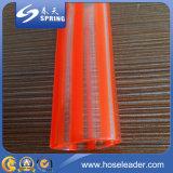 Boyau de niveau flexible transparent clair en plastique de conduite d'eau de PVC