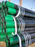 API Spec. Tubo de revestimento sem costura 5CT, aço J55, N80, P110 Caixa de petróleo e tubulação em óleo e gás