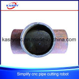 Plasma-Ausschnitt-Maschine Fachmann CNC-Oxy für Fluss-Stahl-Rohr