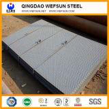placa Checkered de aço padrão do aço suave do GB da largura de 1219mm