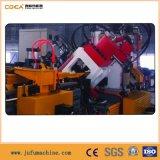 Línea que pela punzonadora de acero de la perforación del CNC del ángulo