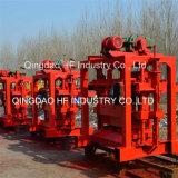 HandQt4-40 Pres Block-Maschinen-Höhlung-konkreter Kleber-manuelle Ziegelstein-Maschine