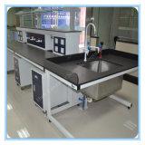 Experimento de mobiliario de laboratorio banco de trabajo