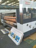 máquina de entalho da impressão de 4color Flexo com cortar giratório