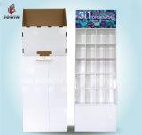Exhibición de papel ondulado de la cartulina del estallido al por mayor al por mayor del supermercado