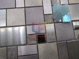 Mosaico del acero inoxidable y del mármol de la mezcla de aluminio (CFM1031)