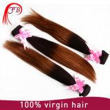 Virgen Remy Hair 1b/33 brasileño Ombre Straight Hair Bundles