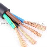 Conducteur en cuivre Gaine en PVC souple Rvv basse tension de câble