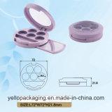 Gamma di colori dell'ombretto di caso cosmetico di caso di trucco di stile di Elgant (YELLO-177)
