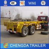 Chengda 3axle 20FT 40FT Container Skeletal Skeleton Trailer for Sale