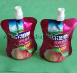 Pet/Al/PE Stand-up Pouch Bag con pico de la leche