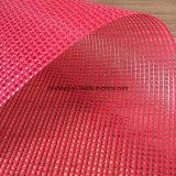 PVC袋または囲うことのための上塗を施してあるポリエステルメッシュ生地