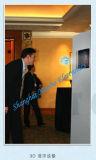 La suspensión lateral escaparate Heliodisplay imágenes// Aerial-Image mostrar