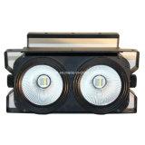 2개의 눈 LED 화소 곁눈 가리개 빛