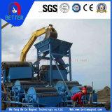 採鉱機械または鉄鋼または錫の鉱石のためのCtyのぬれた常置ドラム磁気前分離器