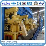 nodulizadora de madera de combustible de la biomasa 2-3t/H
