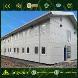 Construction en acier préfabriquée d'accommodation pour des ouvriers