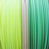 ABS 1,75mm azul verde a amarillo verde filamento 3D.