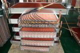 Aluminimum Flosse-kupfernes Gefäß-Wärme-Kühler