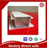 Poeder die het Groene Vierkante Profiel van de Uitdrijving van het Aluminium met een laag bedekken