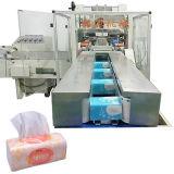 Máquina de tecido facial com máquina de embalagem de guardanapo