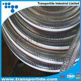 El 1/2 alambre de acero del PVC del claro de 4 pulgadas reforzado/manguito del resorte de Strengthed