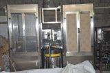 Vollautomatische Saft-Flascheshrink-Hülsen-Etikettiermaschine und Shrink-Tunnel