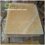Естественный просвечивающий желтый Onyx меда для ванной комнаты/предпосылки/пола/стены/верхних частей