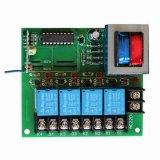 6つのチャネル(ES-K601X)が付いているACによって動力を与えられる無線リモート・コントロールスイッチ