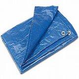 يصمّم [150غسم] 3000# زرقاء صفح مشمّع وقاية
