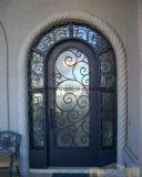 건축재료 정면 단철 문 입구 문 디자인