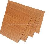 Suelo de azulejos barato de suelo del grano de madera del precio de fábrica
