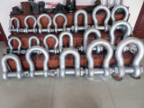 G210大きい造られた鋼鉄索具の弓アンカー旋回装置の手錠