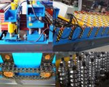 油圧モーターDx PLC制御は機械を形作るタイルロールを艶をかけた