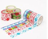 Cinta decorativa suprema del lacre de embalaje de la cinta adhesiva de la marca de fábrica de la manera