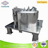 Cps800nc producto patentado gran capacidad plana de alta velocidad de sedimentación de la máquina centrífuga para separación de líquidos sólidos
