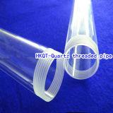 Cilindro de alta temperatura e de alta pressão da câmara de ar de vidro de quartzo/vidro de quartzo