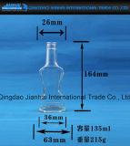 Calabash-Form-Glasflasche für Schmieröltankanlage