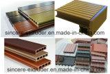 Máquina de madera del estirador de la protuberancia del suelo del PVC WPC