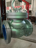 L'acciaio di getto API600 ha flangiato valvola di ritenuta dell'oscillazione 150lb (H44H-DN200-150LB)