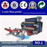 Prix de machine d'impression de Flexo de 2 couleurs