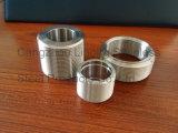 """2-1/2 """" l'acciaio inossidabile 316 DIN2999 chiude il capezzolo dal tubo"""