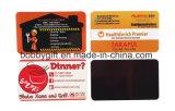 Магнит холодильника сувенира стикера визитной карточки печатание промотирования магнитный