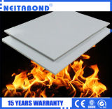 Fuego indestructible de aluminio ACP Panel Compuesto de plástico