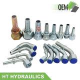 Ajustage de précision hydraulique de connecteur de tuyau d'acier inoxydable de Ht
