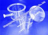 Halbleiter-Prozessdiffusion-Gefäß, Bell-Deckel, ätzend mit Hochtemperatur von 1, 200 hoher Reinheitsgrad-GE-Quarz-Gefäß