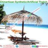 Ombrello sintetico resistente al fuoco di Beatch Sun del Thatch di Uv-Protezione