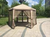 1.8m (jede Seite) Randfaltendes Gazebo-einfaches Knall-Zelt des Stahl-6 mit Netz