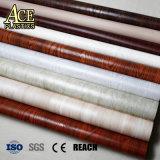 Película decorativa de PVC de grãos de madeira/folha/folha para porta de aço/Interior, mobiliário de escritório, armário de cozinha, perfis de madeira