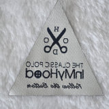 O Classic Specially Shape Woven Labels Foe Outdoor Clothing
